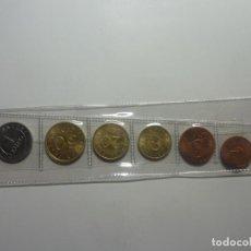 Monedas Juan Carlos I: SERIE PRUEBAS DEL EURO CHURRIANA. 7 PIEZAS. Lote 203964685