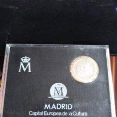 Monedas Juan Carlos I: MONEDA DE PLATA DE 200 PESETAS 1992 MADRID CAPITAL EUROPEA DE LA CULTURA. Lote 203967348