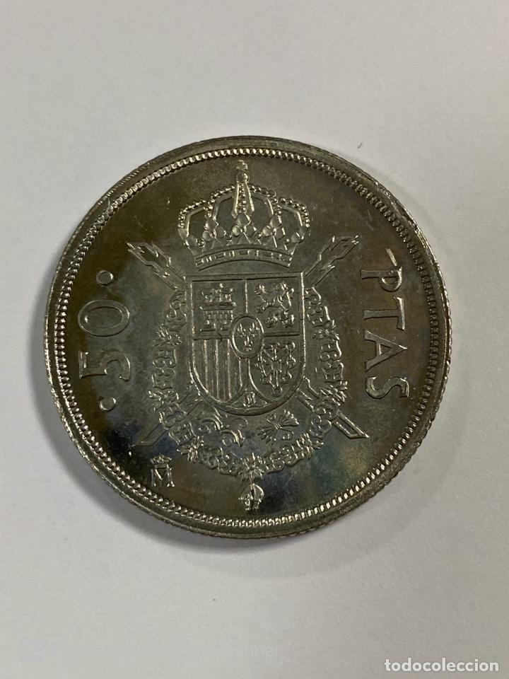 Monedas Juan Carlos I: MONEDA. ESPAÑA. 50 PESETAS. JUAN CARLOS I. 1984. S/C. VER FOTOS. - Foto 3 - 203969528