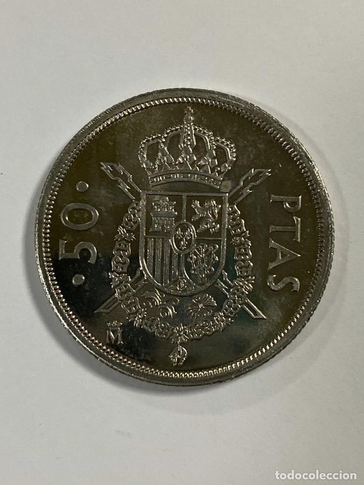 Monedas Juan Carlos I: MONEDA. ESPAÑA. 50 PESETAS. JUAN CARLOS I. 1984. S/C. VER FOTOS. - Foto 3 - 203969781