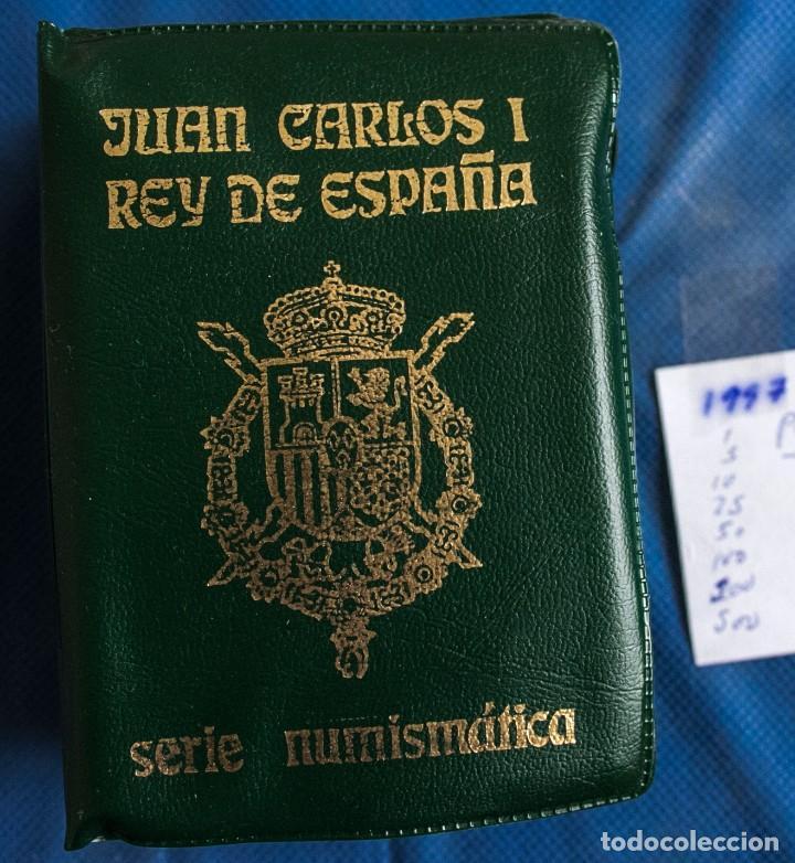 CARTERA OFICIAL SERIE NUMISMATICA DE LA FNMT EMISION 1997 J.CARLOS (Numismática - España Modernas y Contemporáneas - Juan Carlos I)