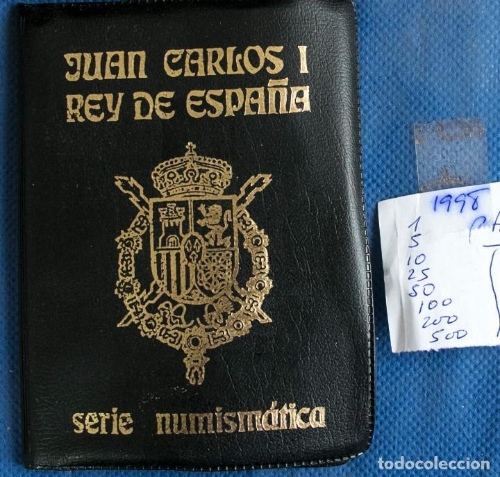 CARTERA OFICIAL EMISION NUMISMATICA DE FNMT 1998 J.CARLOS (Numismática - España Modernas y Contemporáneas - Juan Carlos I)
