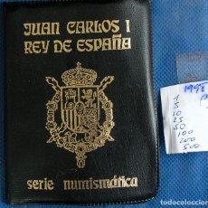 Monedas Juan Carlos I: CARTERA OFICIAL EMISION NUMISMATICA DE FNMT 1998 J.CARLOS. Lote 268771654