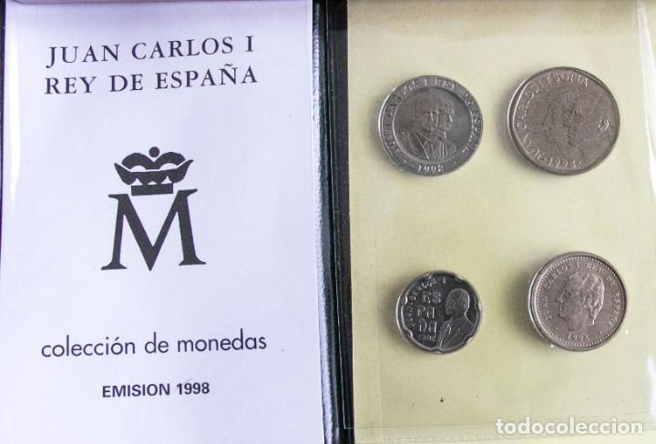 Monedas Juan Carlos I: CARTERA OFICIAL EMISION NUMISMATICA DE FNMT 1998 J.CARLOS - Foto 2 - 268771654