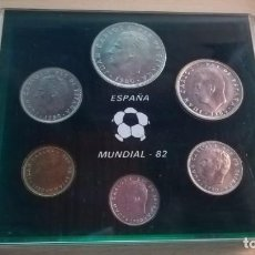 Monedas Juan Carlos I: MONEDAS CONMEMORATIVAS MUNDIAL DE ESPAÑA 82. Lote 204337037