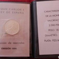 Monedas Juan Carlos I: CARTERA OFICIAL 2000 PESETAS 1996 PLATA. Lote 204996908