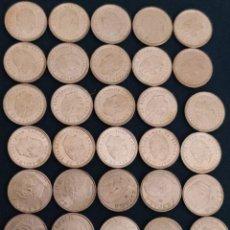 Monedas Juan Carlos I: LOTE DE 34 MONEDAS DE 10 PESETAS AÑOS 1997 Y 2000, SIN CIRCULAR. Lote 205144338