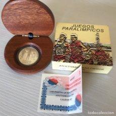 Monedas Juan Carlos I: 1.000 PESETAS AÑO 2000 PARALIMPICOS ATLETISMO PARA CIEGOS. Lote 205361647