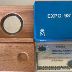 Monedas Juan Carlos I: 1.000 PESETAS AÑO 1998 EXPO 98. Lote 205370151