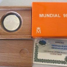 Monedas Juan Carlos I: 1.000 PESETAS AÑO 1998 MUNDIAL 98. Lote 205370760