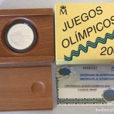 Monedas Juan Carlos I: 1.000 PESETAS AÑO 1999 JUEGOS OLÍMPICOS. Lote 205371706