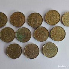 Monedas Juan Carlos I: 12 MONEDAS 100 PESETAS. Lote 205557801
