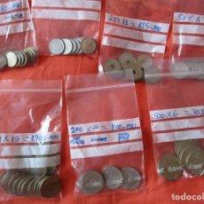 Monedas Juan Carlos I: 6945 PTAS.MONEDAS JUAN CARLOS I. (5, 10, 25, 50, 100, 200, 500 PESETAS ULTIMA EMISION NUEVO DISEÑO). Lote 205580843