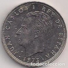 Monedas Juan Carlos I: ESPAÑA - 25 PESETAS 1975 - ESTRELLA 78. Lote 205591623