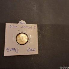 Monedas Juan Carlos I: MONEDA 5 PESETAS 2000 JUAN CARLOS I ESPAÑA SE MANDA LA MONEDA DE LA FOTOGRAFÍA. Lote 205599386