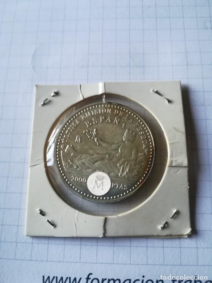 MONEDA PLATA. CALIDAD PROF. 2000 PTS. AÑO 2001 (Numismática - España Modernas y Contemporáneas - Juan Carlos I)