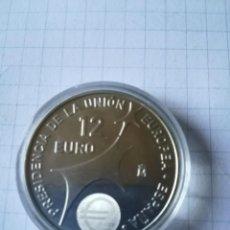 Monedas Juan Carlos I: MONEDA PLATA PROF. 12 € AÑO 2002.. Lote 205606161
