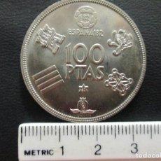 Monedas Juan Carlos I: 100 PESETAS 1980 80 ESPAÑA 82 JUAN CARLOS I EN BUENA CONSERVACION. Lote 205642987