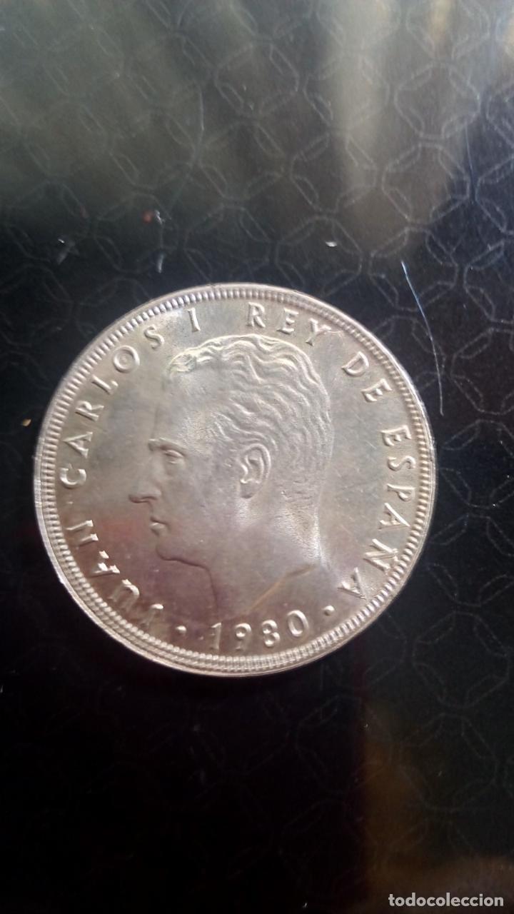 MONEDA DE 100 PESETAS ACUÑADA EN 1980 CON MOTIVO DEL MUNDÍAL DE FÚTBOL ESPAÑA 82 (Numismática - España Modernas y Contemporáneas - Juan Carlos I)