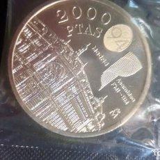 Monedas Juan Carlos I: 9 MONEDAS DE 2000 PESETAS. Lote 205646635