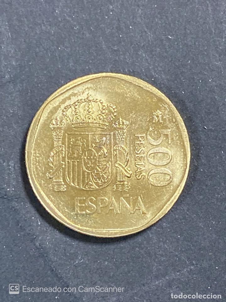 Monedas Juan Carlos I: MONEDA. ESPAÑA. JUAN CARLOS I. 500 PESETAS. 1999. S/C. VER FOTOS - Foto 3 - 205660670