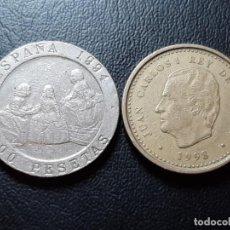Monedas Juan Carlos I: LOTE 2 MONEDAS J.CARLOS 100 Y 200 PTAS LA DE LAS FOTOS. Lote 205687555