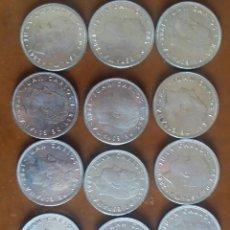 Monedas Juan Carlos I: 12 MONEDAS DE 25 PTAS. 4 (1982) 4(1983) 4 (1984). Lote 205702811