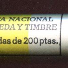 Monedas Juan Carlos I: CARTUCHO ORIGINAL FNMT COMPLETO DE 200 PESETAS DE 1993 FLOR DE CUÑO. Lote 205746305