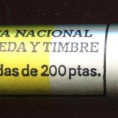 Monedas Juan Carlos I: CARTUCHO ORIGINAL FNMT COMPLETO DE 200 PESETAS DE 1995 FLOR DE CUÑO. Lote 205746360