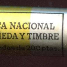 Monedas Juan Carlos I: CARTUCHO ORIGINAL FNMT COMPLETO DE 200 PESETAS DE 1997 FLOR DE CUÑO. Lote 205746430