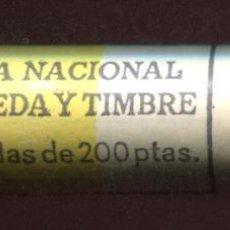Monedas Juan Carlos I: CARTUCHO ORIGINAL FNMT COMPLETO DE 200 PESETAS DE 1988 FLOR DE CUÑO. Lote 205746458