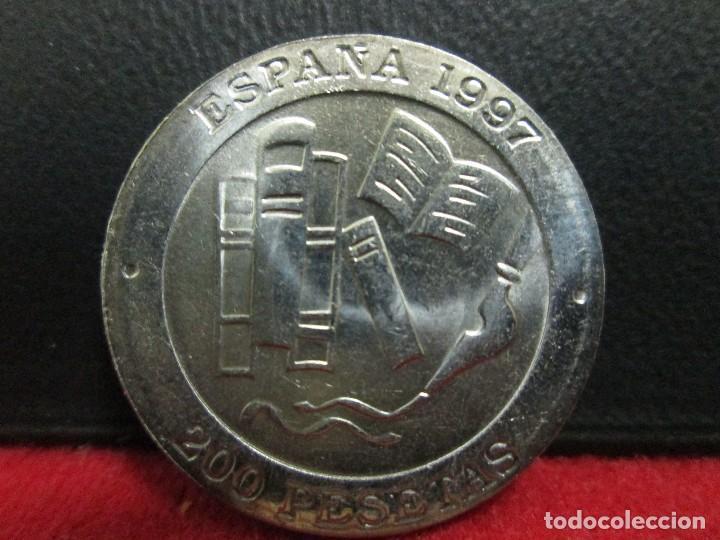 200 PESETAS 1997 JACINTO BENAVENTE SIN CIRCULAR (Numismática - España Modernas y Contemporáneas - Juan Carlos I)