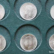 Monedas Juan Carlos I: LOTE 22 MONEDAS 50 PTAS JUAN CARLOR, SC SERIE COMPLETA DESDE 1975 AL 2000, FOTOS POR LAS DOS CARAS. Lote 206406728