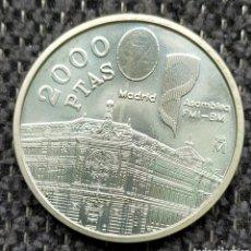 Monedas Juan Carlos I: 2000 PESETAS 1994 DE PLATA JUAN CARLOS I. Lote 206460547