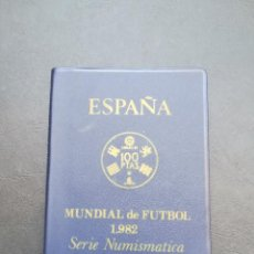 Monedas Juan Carlos I: CARTERA DE MONEDAS DE PESETAS DE JUAN CARLOS I DEL AÑO 1980*80.DEL MUNDIAL DE FUTBOL.. Lote 206462131