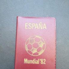 Monedas Juan Carlos I: CARTERA DE MONEDAS DE PESETAS DE JUAN CARLOS I DEL AÑO 1980*81.DEL MUNDIAL DE FUTBOL.. Lote 206463793