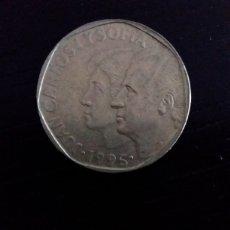 Monedas Juan Carlos I: MONEDA DE 500 PESETAS JUAN CARLOS I. AÑO 1995. Lote 206491830