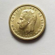 Monedas Juan Carlos I: ## JUAN CARLOS I - 100 PESETAS 1988 LIS REVERSO##. Lote 206585210
