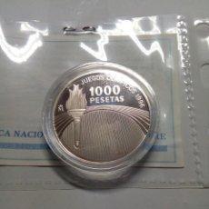 Monedas Juan Carlos I: MONEDA PLATA 1000 PESETAS JUEGOS OLIMPICOS 1966. Lote 206994146