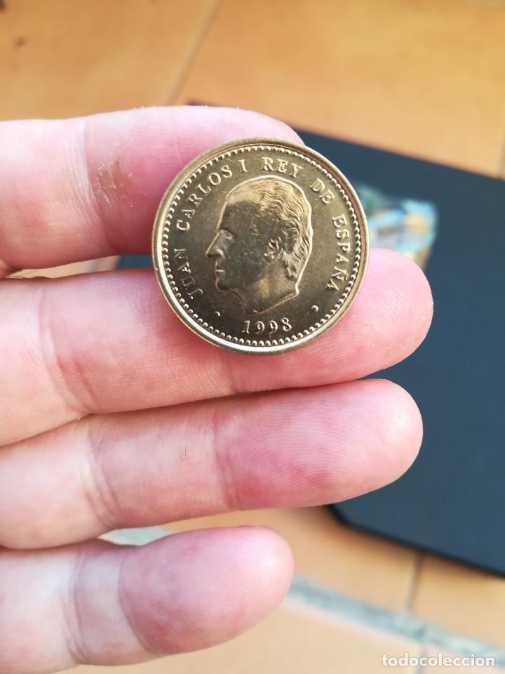Monedas Juan Carlos I: MONEDA DE 100 PESETAS DE JUAN CARLOS I.DEL AÑO 1998.S/C.SACADA DE BOLSA! - Foto 3 - 207021555