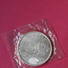 Monedas Juan Carlos I: JUAN CARLOS I 2000 PESETAS PLATA. 1996. MAJA DE GOYA. Lote 207040958