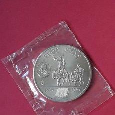 Monedas Juan Carlos I: JUAN CARLOS I 2000 PESETAS PLATA. 1997. MIGUEL DE CERVANTES. Lote 207041072