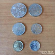Monedas Juan Carlos I: COLECCIÓN DE 6 MONEDAS DEL MUNDIAL ESPAÑA 82. Lote 207193065