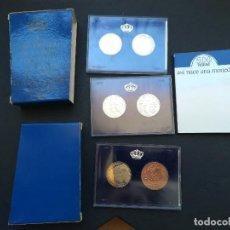 Monedas Juan Carlos I: ESTUCHE COMPLETO ON 6 MONEDAS DEL XXV ANIVERSARIO DE LAS BODAS DE LOS REYES ,JUAN CARLOS I Y SOFIA.. Lote 207206815