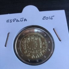 """Monedas Juan Carlos I: 2€. ESPAÑA 2015. COMÚN """"BANDERA EUROPEA"""". CIRCULADA. Lote 207233982"""