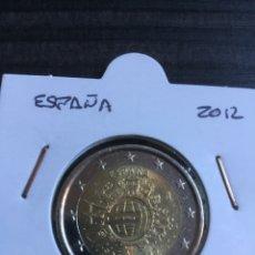 Monedas Juan Carlos I: 2€. ESPAÑA 2012. COMÚN TYE. CIRCULADA.. Lote 207234161