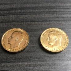 Monedas Juan Carlos I: 2 MONEDAS 100 PESETAS 1983, FLOR DE LIS ARRIBA Y ABAJO. SIN CIRCULAR.. Lote 207356136