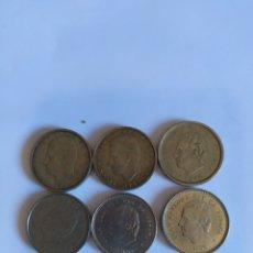Monedas Juan Carlos I: LOTE DE MONEDAS DE 100PST. Lote 207460585