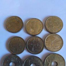 Monedas Juan Carlos I: LOTE DE MONEDAS 25 Y 5 PESETAS. Lote 207461132