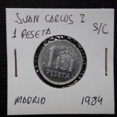 Monedas Juan Carlos I: JUAN CARLOS I 1 PESETA 1984 SC. Lote 207814825